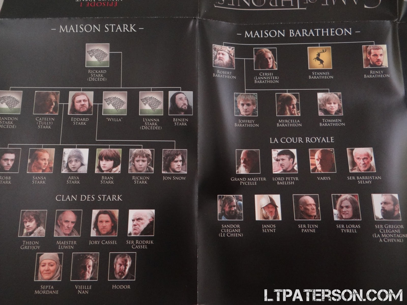 Populaire Déballage coffret édition collector Game of Thrones saison 1 et 2  BF62