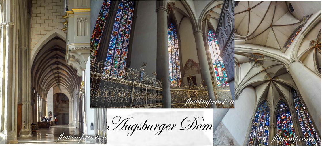 Der Augsburger Dom von innen