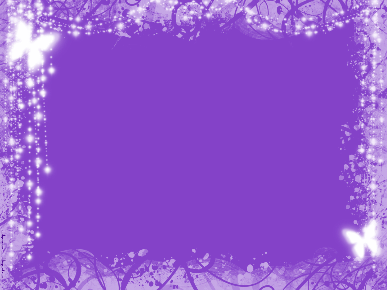 Plush possum studio our first free twitter backgrounds - Is purple a christmas color ...