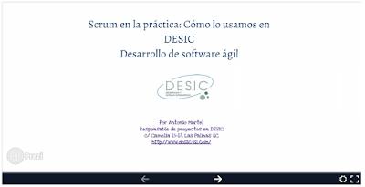 Scrum en la práctica: Cómo lo usamos en DESIC - Antonio Martel