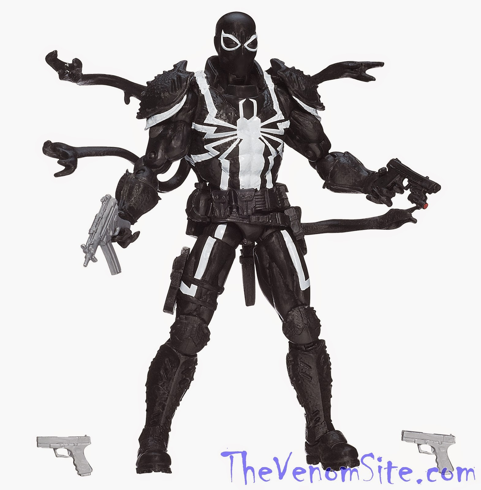 Add the Walgreens exclusive Marvel Legends Infinite Agent Venom action figure to your Christmas list