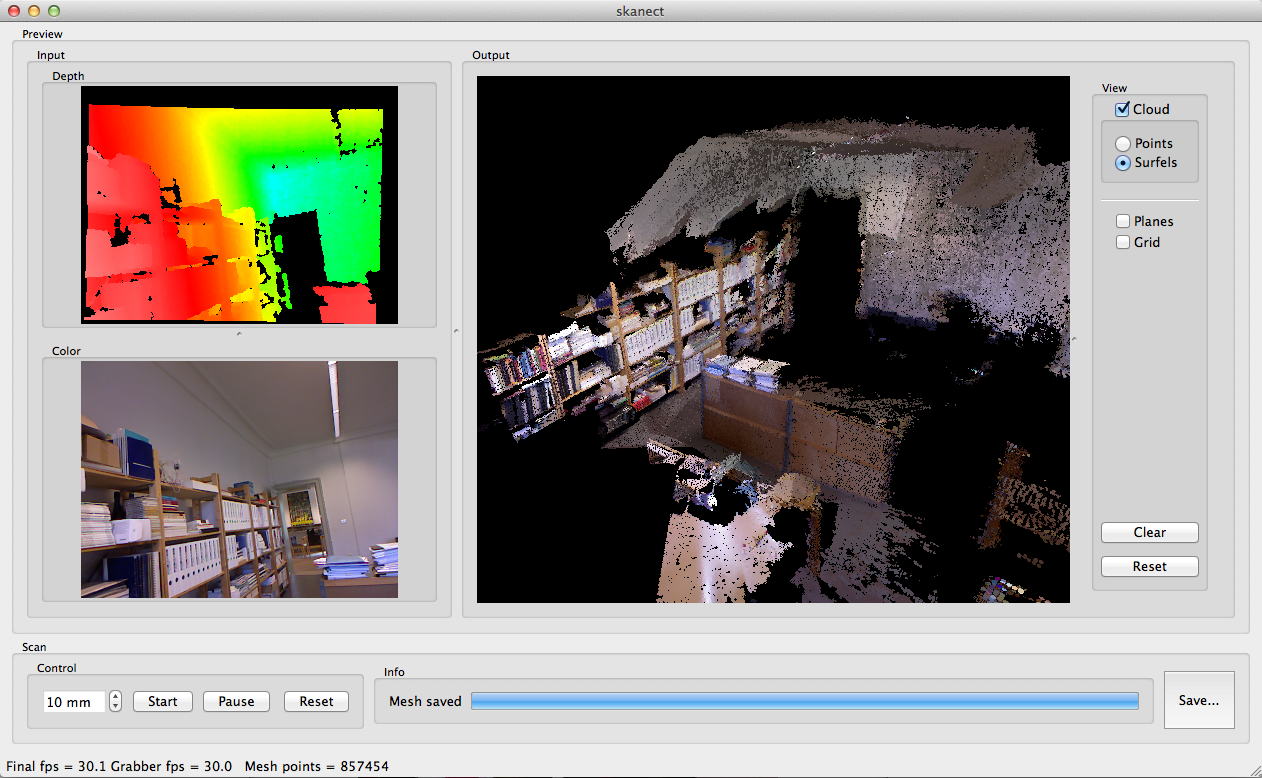 3d Scanning Using Kinect And Free Software
