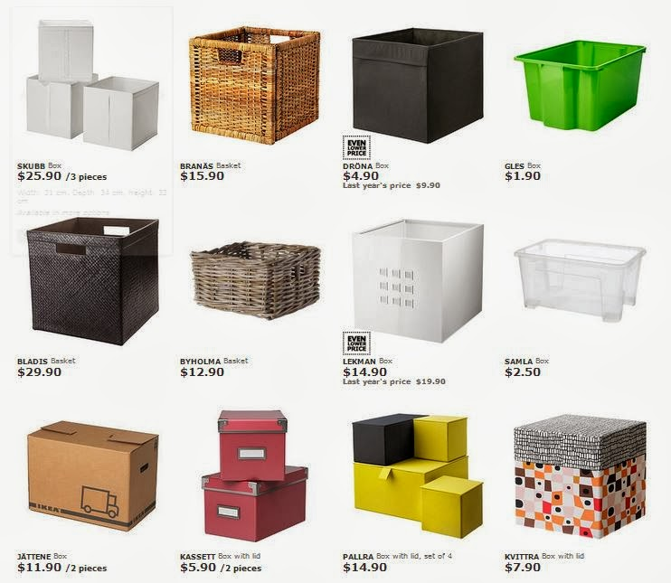Off Course, Organizers And Boxes Are The Main Items That I Looked For Here  At Ikea, It Really Helps Me To Optimize My Storage At Living And Laundry  Area, ...