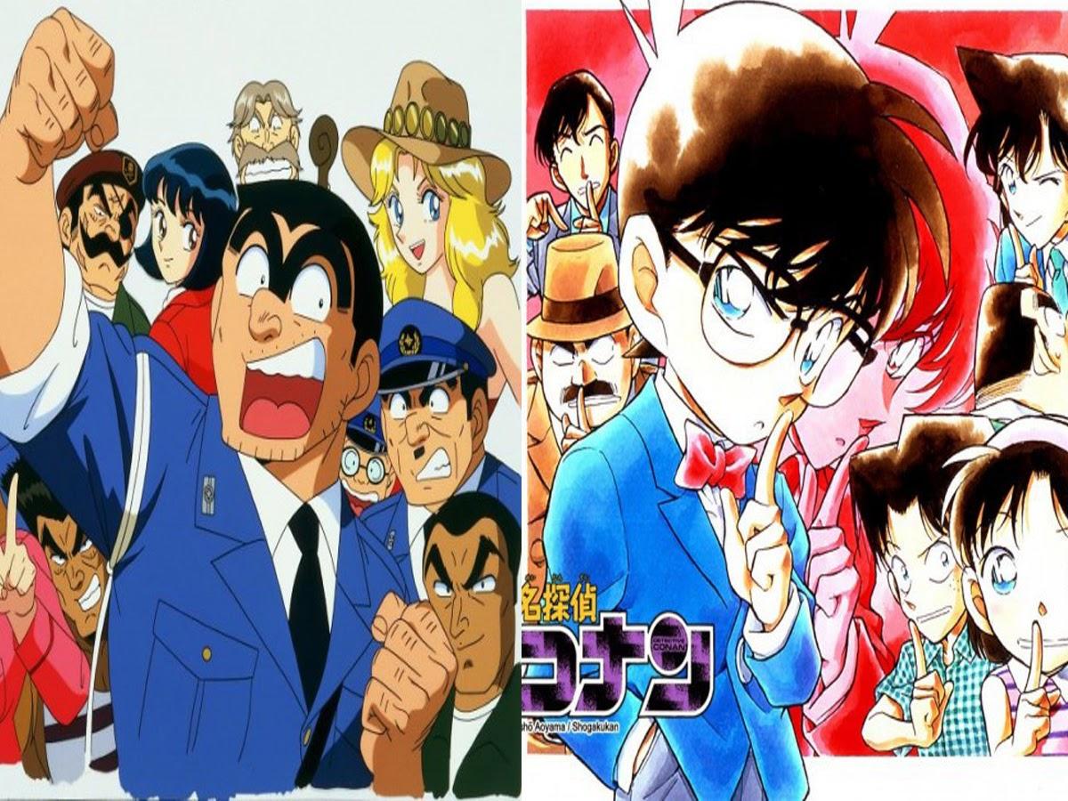 Kochira Katsushika-ku Kamearikouen-mae Hashutsujo (Kochikame) dan Detective Conan