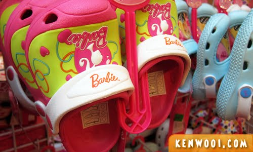 barbie baby shoes