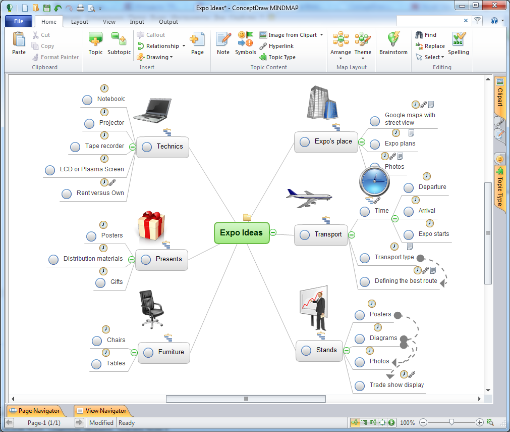 cs odessa breaks boundaries in mind mapping and project management with new conceptdraw mind map exchange solution - Conceptdraw Mind Map