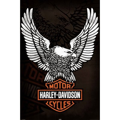 classic harley davidson logo poster eagle poster sale posters prints