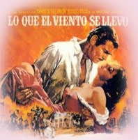 Scarlett O´hara and Rhett Butler