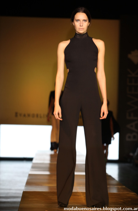 Evangelina Bomparola primavera verano 2013. Moda minimalista.
