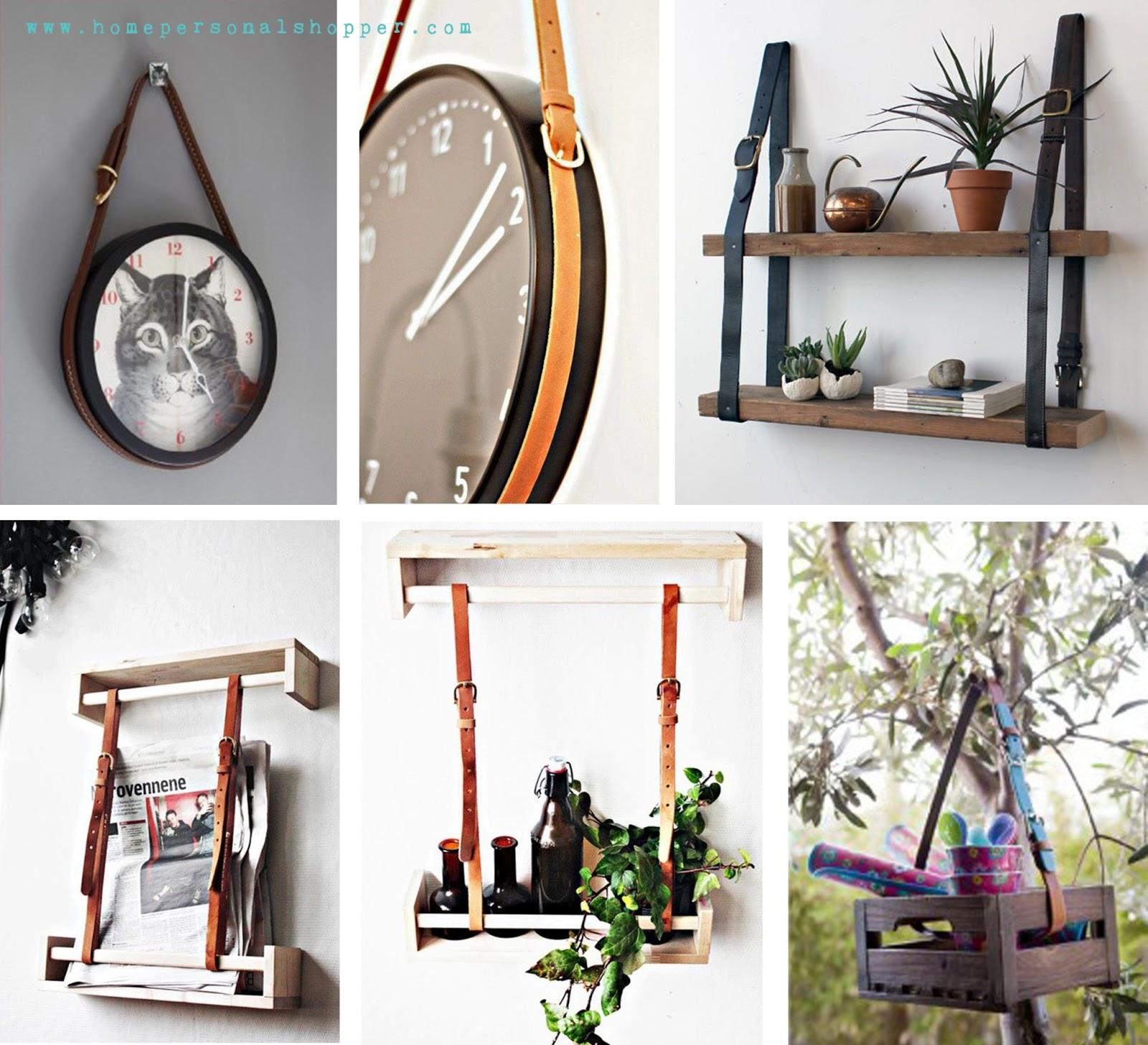 Reutiliza tus cinturones bricolaje - Hazlo tu mismo muebles ...