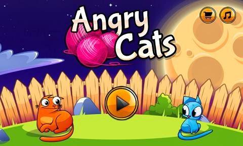 صور لعبة القطط الغاضبه Angry Cats للاندرويد
