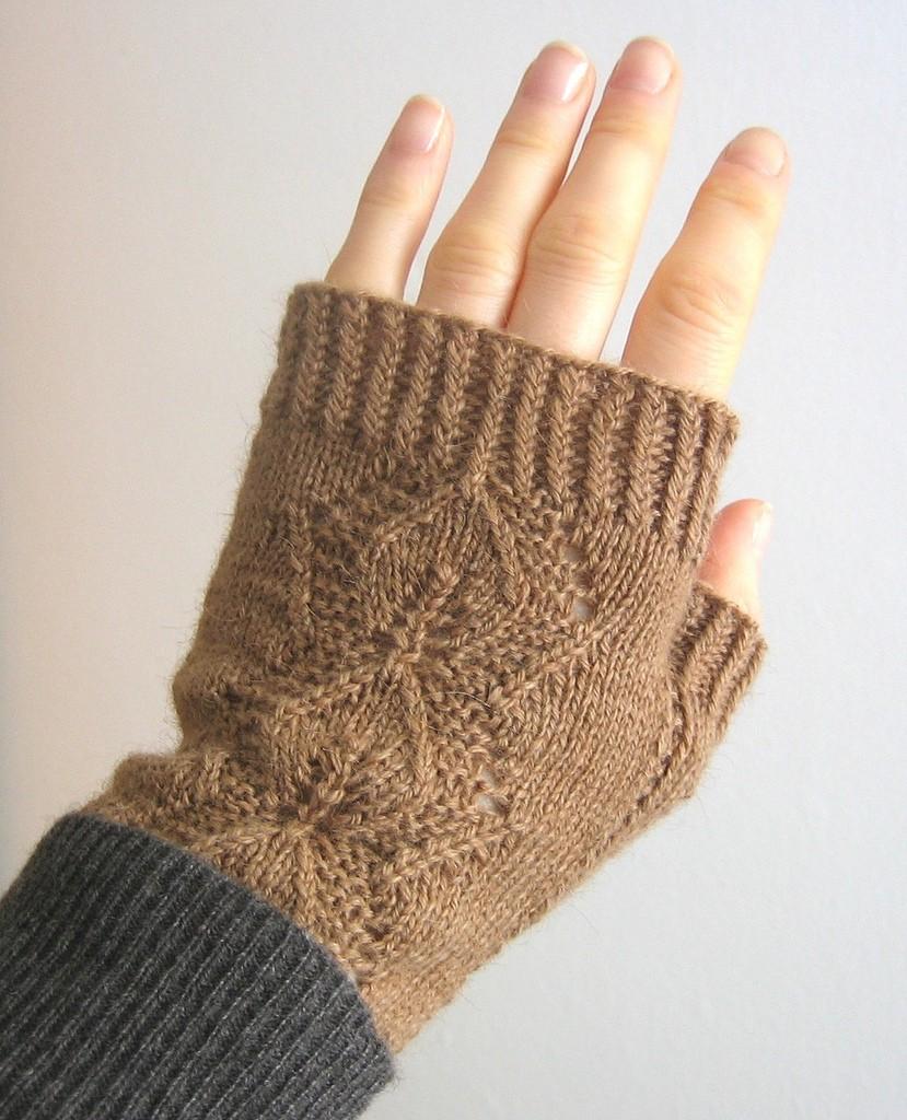 Вязание спицами ажурного шарфа с описанием