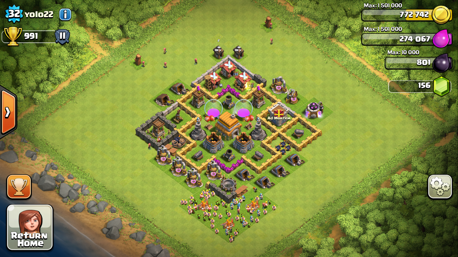 Good Clash Of Clans Bases Level 5 Town Hall