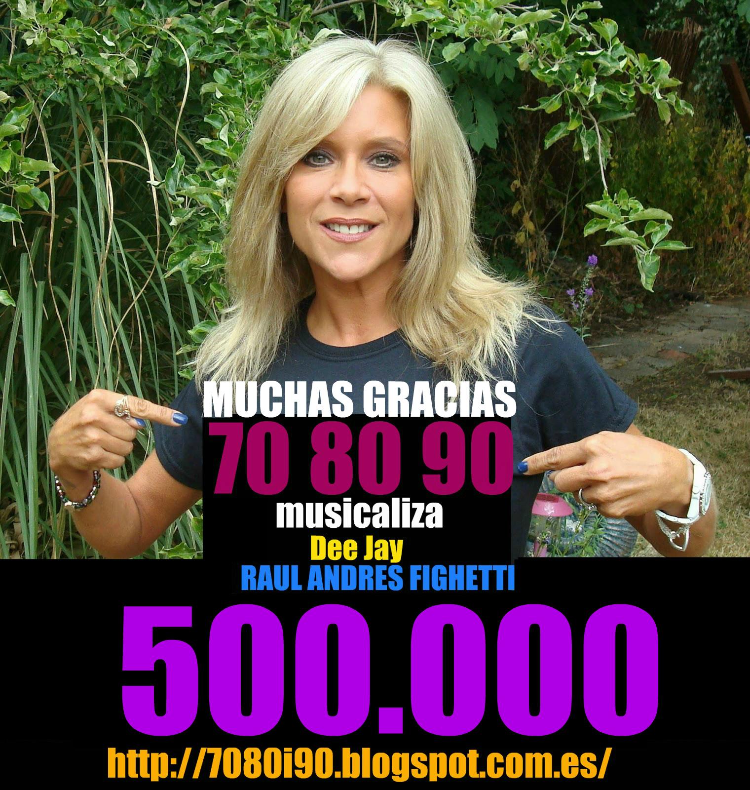 500.000 PAGINAS VISTAS