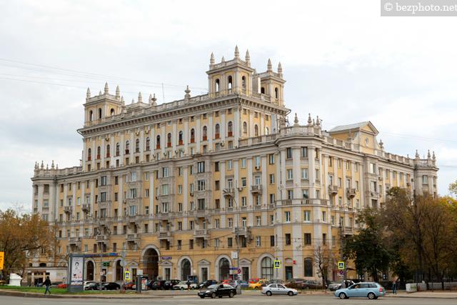 сталинский ампир в архитектуре