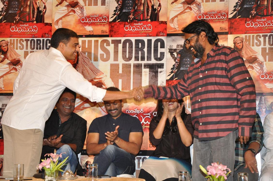 Rudramadevi movie success meet photos-HQ-Photo-22