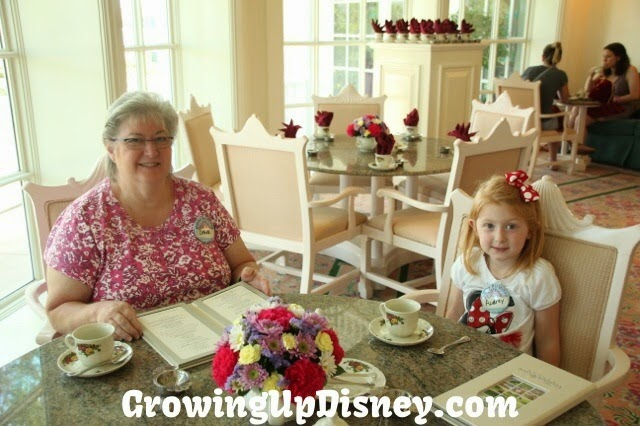 Growing Up Disney, Grand Floridian, Walt Disney World, afternoon tea