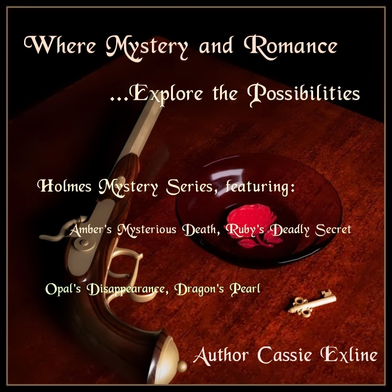 Cassie Exline -- Mystery and Romance