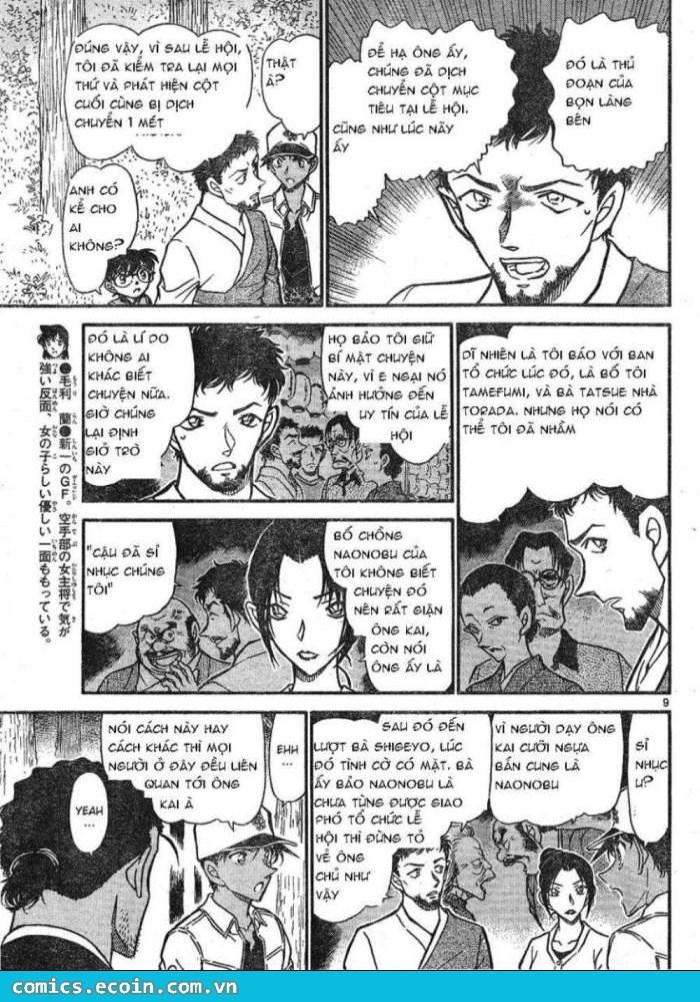 Detective Conan - Thám Tử Lừng Danh Conan chap 616 page 9 - IZTruyenTranh.com