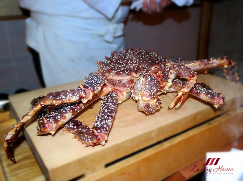 akasaka kitafuku red king crab dining adventure