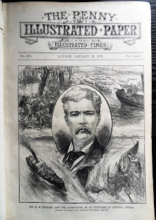 The Penny Illustrated 1878 newspaper cover