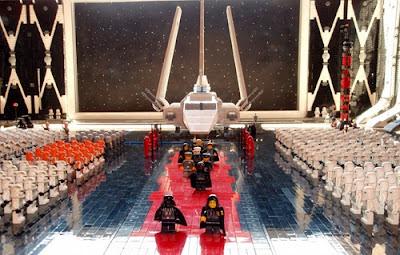 Lego Imperial March, Darth Vader, Emperor