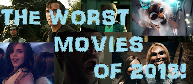 Worst Movies of 2013 banner image