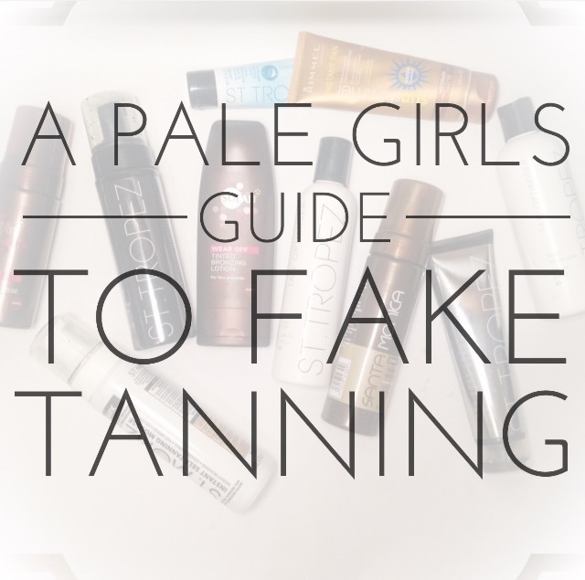 Fake Tan, beauty, pale, pale skin, tan, how to, guide,