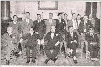 Ajedrecistas Participantes en el Torneo Internacional de Madrid 1934