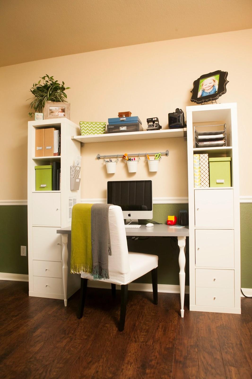mybellabug office desk big reveal. Black Bedroom Furniture Sets. Home Design Ideas