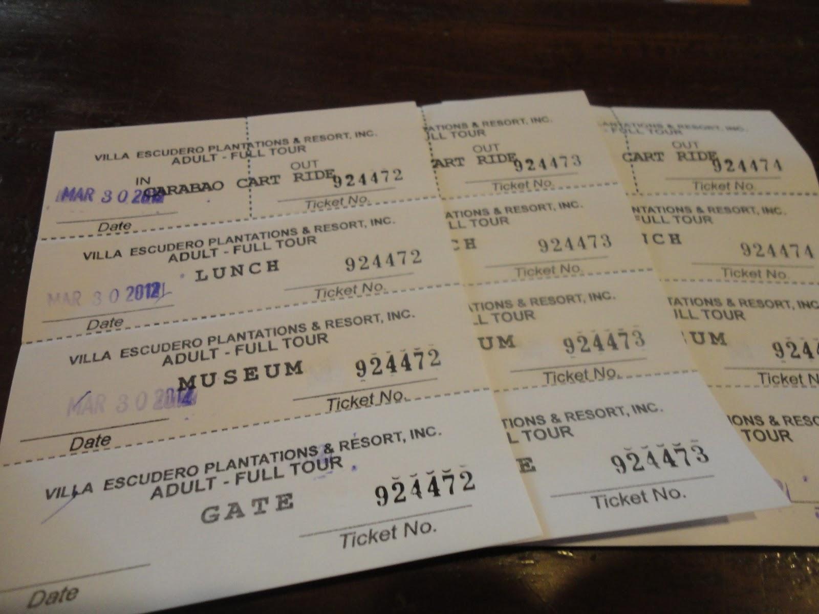 ... : Villa Escudero Plantations and Resort - Day Tour Itinerary