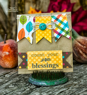 SRM Stickers Blog - Give Thanks by Corri - #thanksgiving #thanks #card #bag #gift