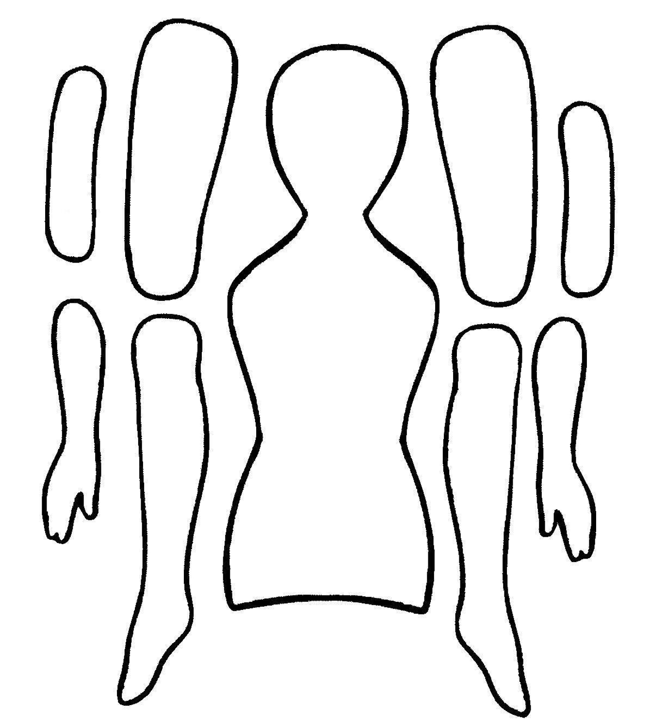 84 best images about Templates Articulated Paper Dolls on – Paper Doll Template