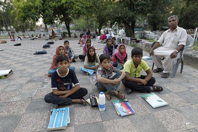 İslamabad'da bir sınıf