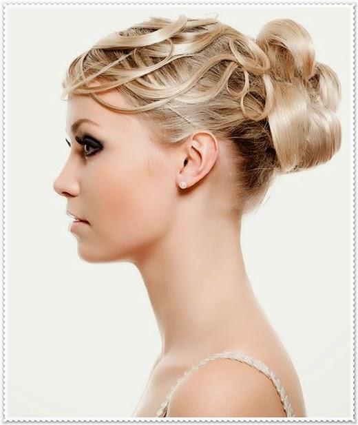 Hochsteck Frisuren 2014 für Abendkleider
