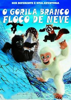 O Gorila Branco: Floco de Neve - DVDRip Dublado