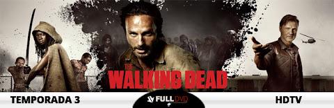 Descargar The Walking Dead Temporada 3 Completa HDTV Español Latino 2012