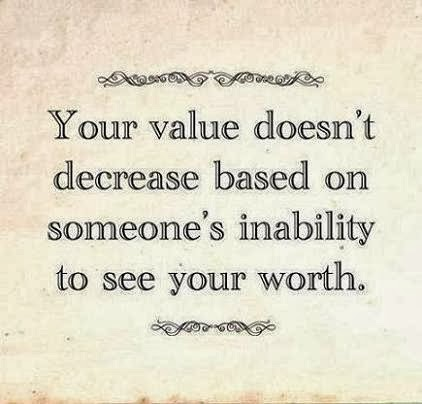 being worth quote