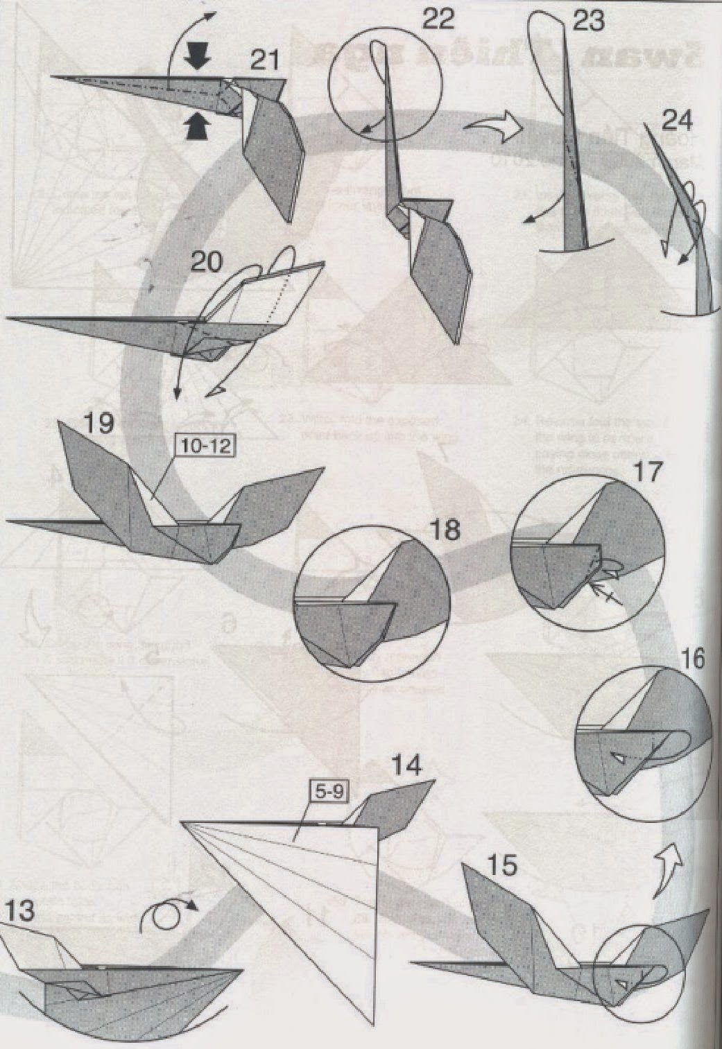 origami swan instructions easy origami instructions for