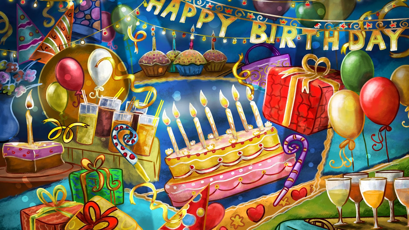 تهنئة عيد ميلاد سعيد