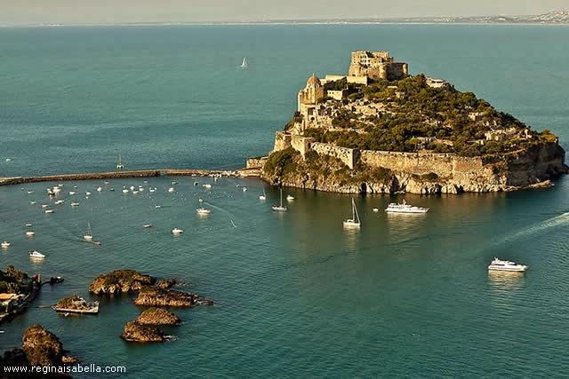 ARAGONESE CASTLE - ISCHIA ISLAND, NAPLES, ITALY