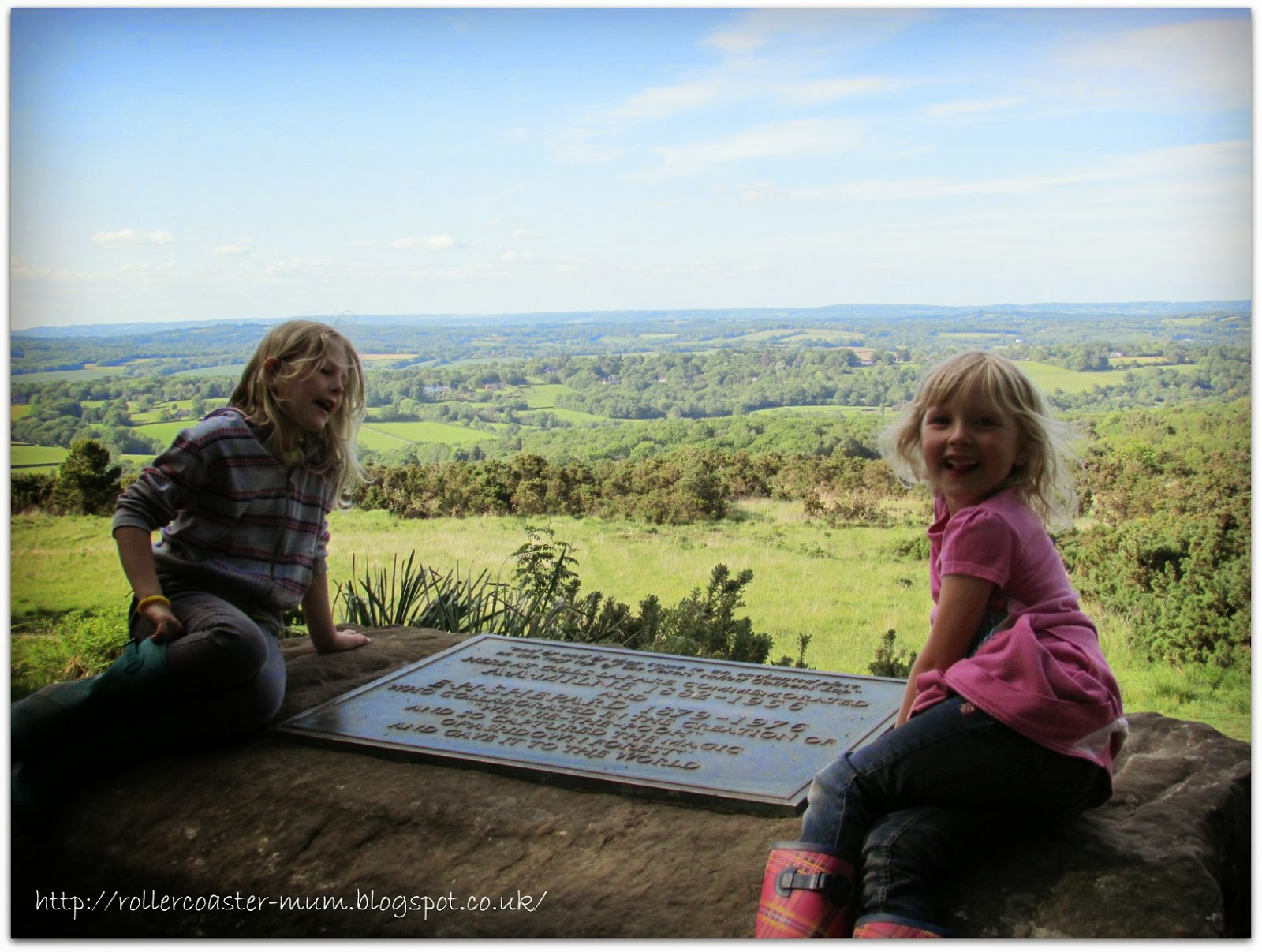 Beautiful view from the Enchanted Place, Ashdown Forest