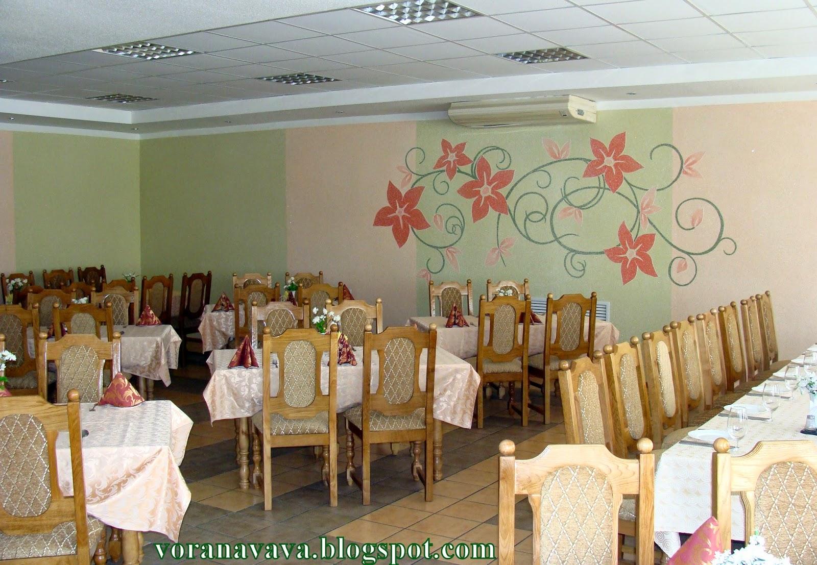Вороново, ресторан после ремонта, апрель 2014