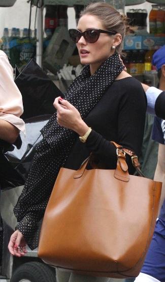 Marrone Indossata Anche Da Olivia Palermo Per Le Vie Di Manhattan