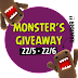 Monster's Giveaway