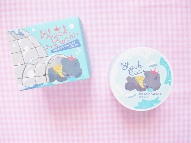 Shara Shara Black Bear Miracle Capsule Cream Review