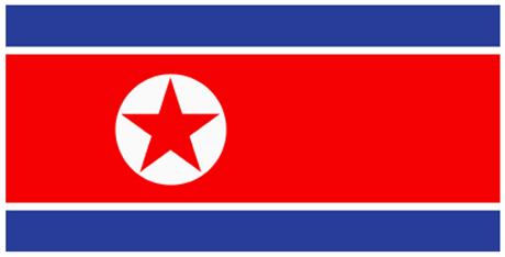 Bandeira da RPD da Coreia