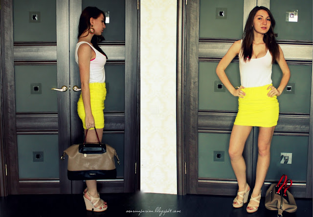 Look of day:Every day yellow