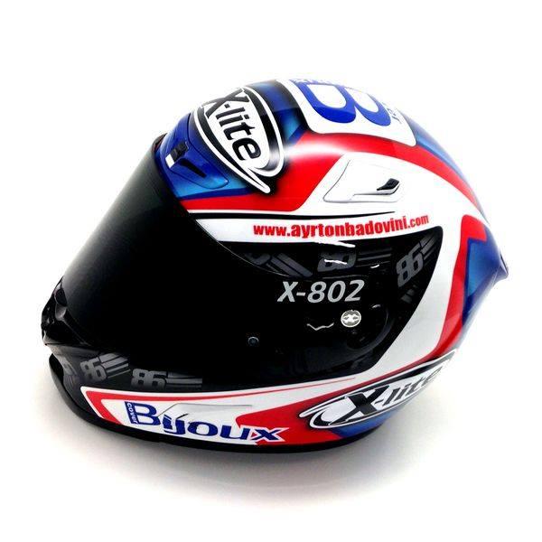 racing helmets garage x lite x 802r a badovini 2015 by. Black Bedroom Furniture Sets. Home Design Ideas