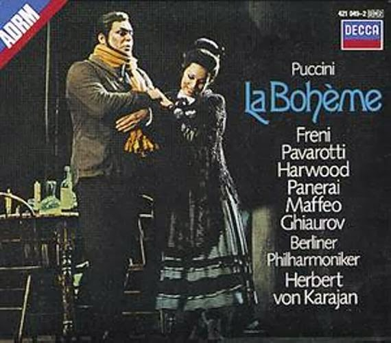 Puccini La Boheme Pavarotti Freni